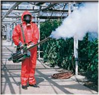 обработка острым средством с запахом
